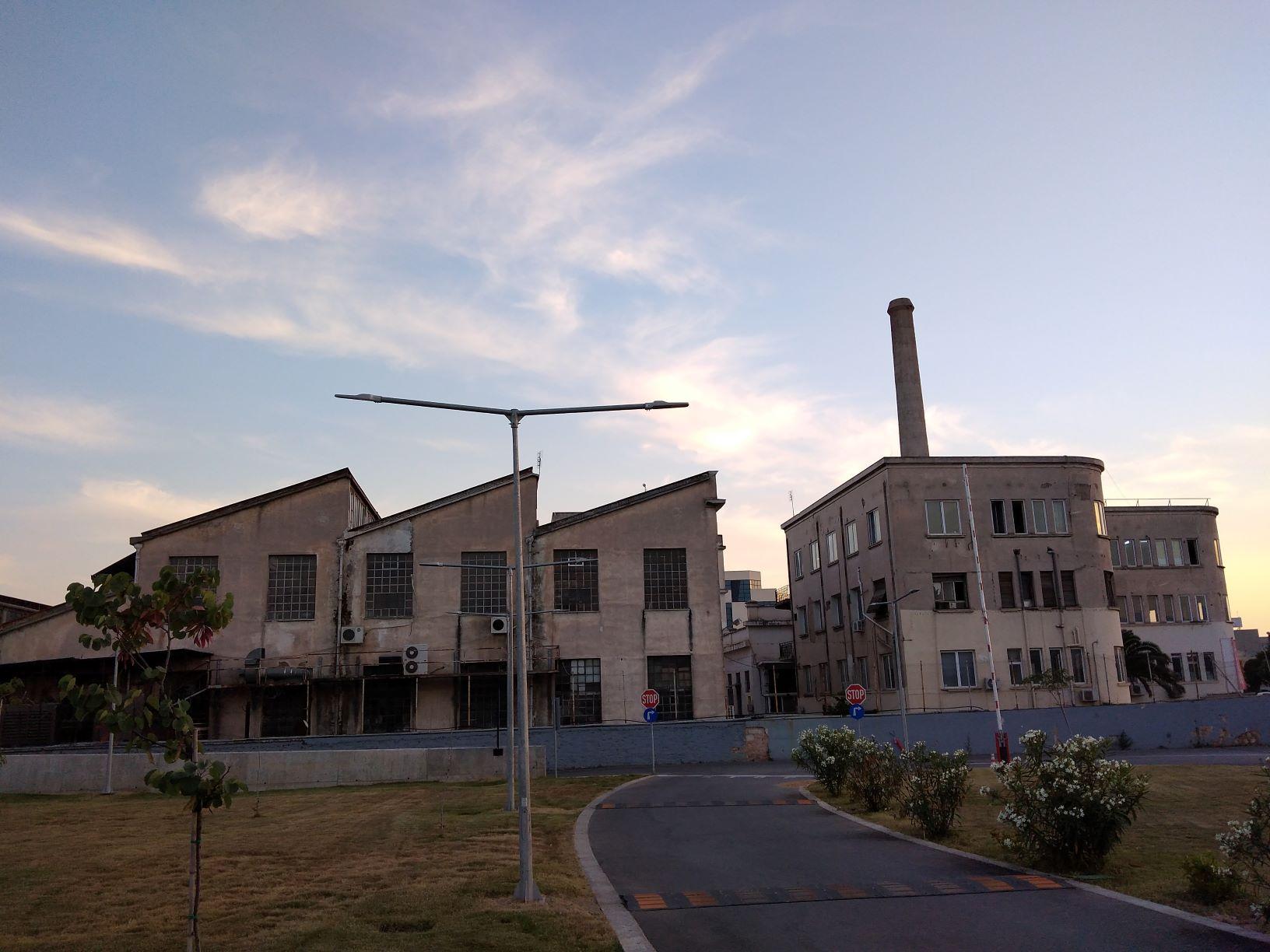 Λαναράς, Περιστέρι, Μουζάκης, Δημητρίου Άντζελα, Βιομηχανικό κτίριο, κλωστοϋφαντουργία