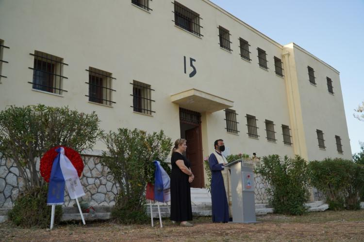 Χαϊδάρι, μνήμη, στρατόπεδο Χαιδαρίου, Ναζί, Μπλοκ 15, εκδήλωση