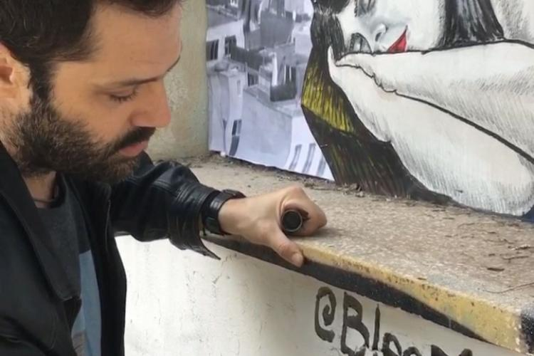 bleeps, Περιστέρι street art, life