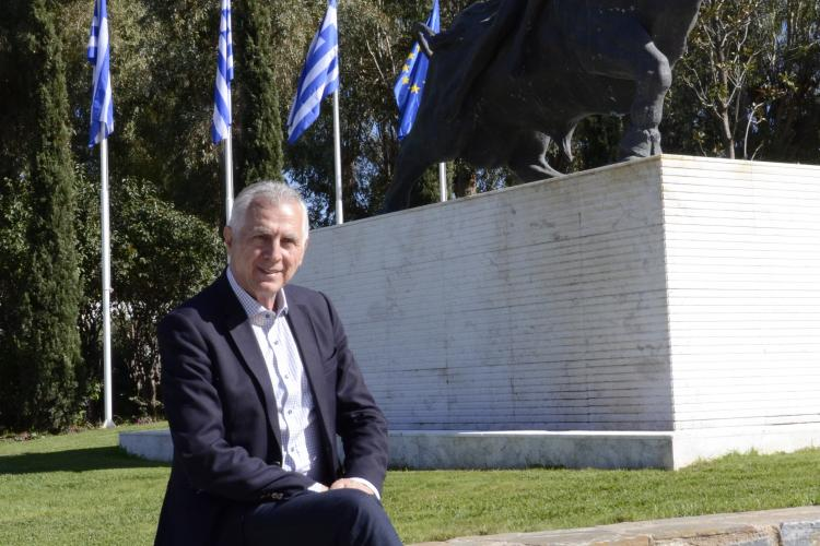 Ενας περίπατος στο Αλσος με τον Δήμαρχο Περιστερίου Ανδρέα Παχατουρίδη
